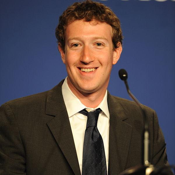 Mark Zuckerberg, CEO de Facebook, uno de los jovenes emprendedores referentes en todo el mundo