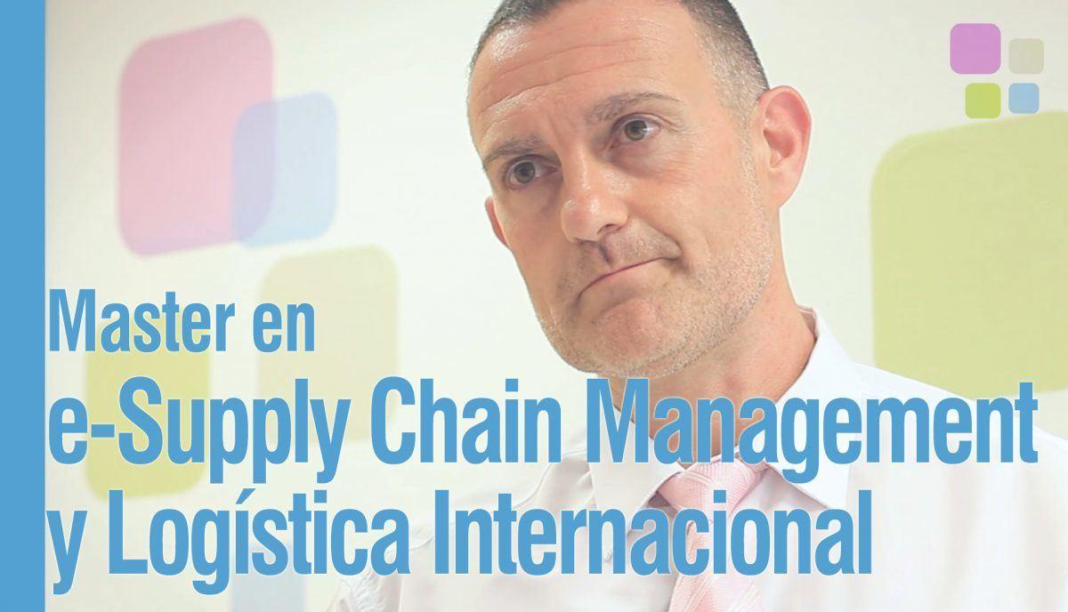 La nueva logística necesita un perfil profesional híbrido Juan Luis de los Ríos, director del Master en E-Supply Chain Management