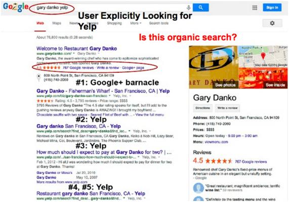 nuevo algoritmo google palomo
