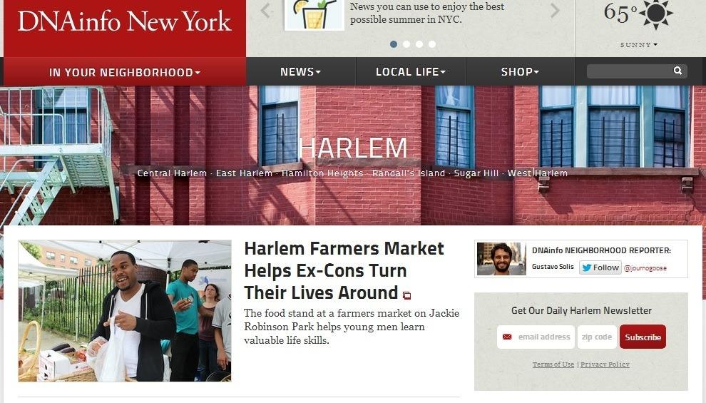 Periodismo hiperlocal: la información barrio a barrio - harlem