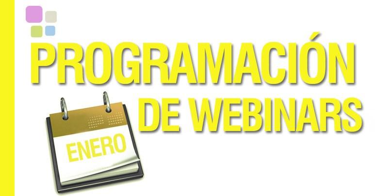 Agenda de webinars gratuitos en enero en IEBS