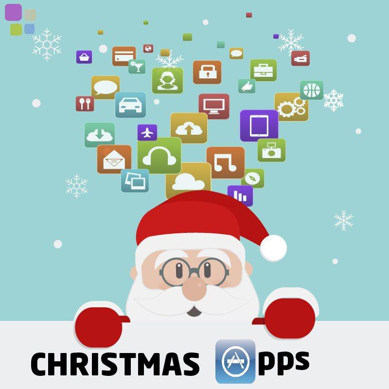 Las mejores aplicaciones navideñas - Santa Apps