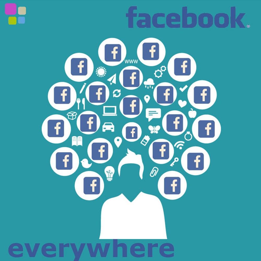 Facebook en todas partes - facebook everywhere