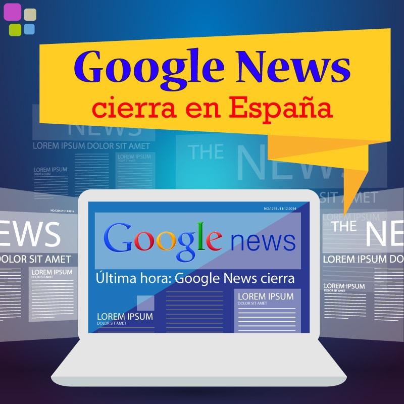 Google News cierra en España el próximo martes