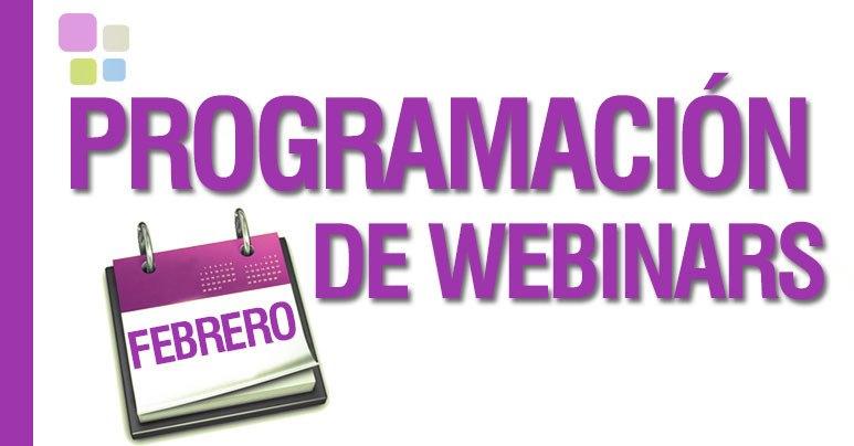 Agenda de Webinars Gratuitos en Febrero en IEBS