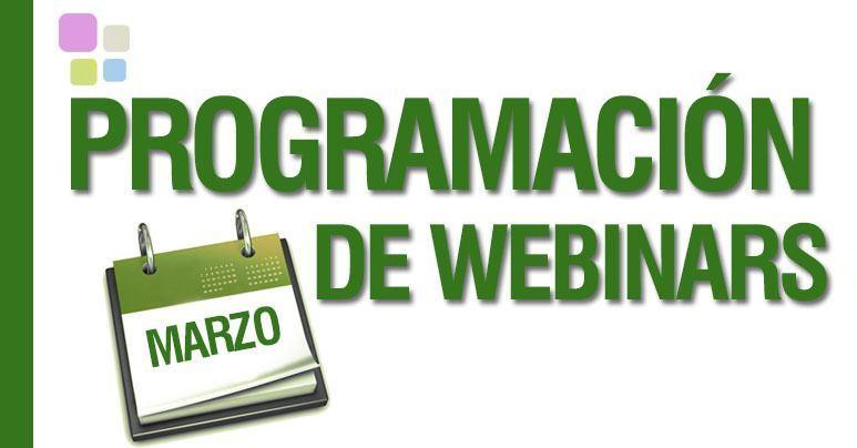 Agenda de Webinars Gratuitos en Marzo en IEBS