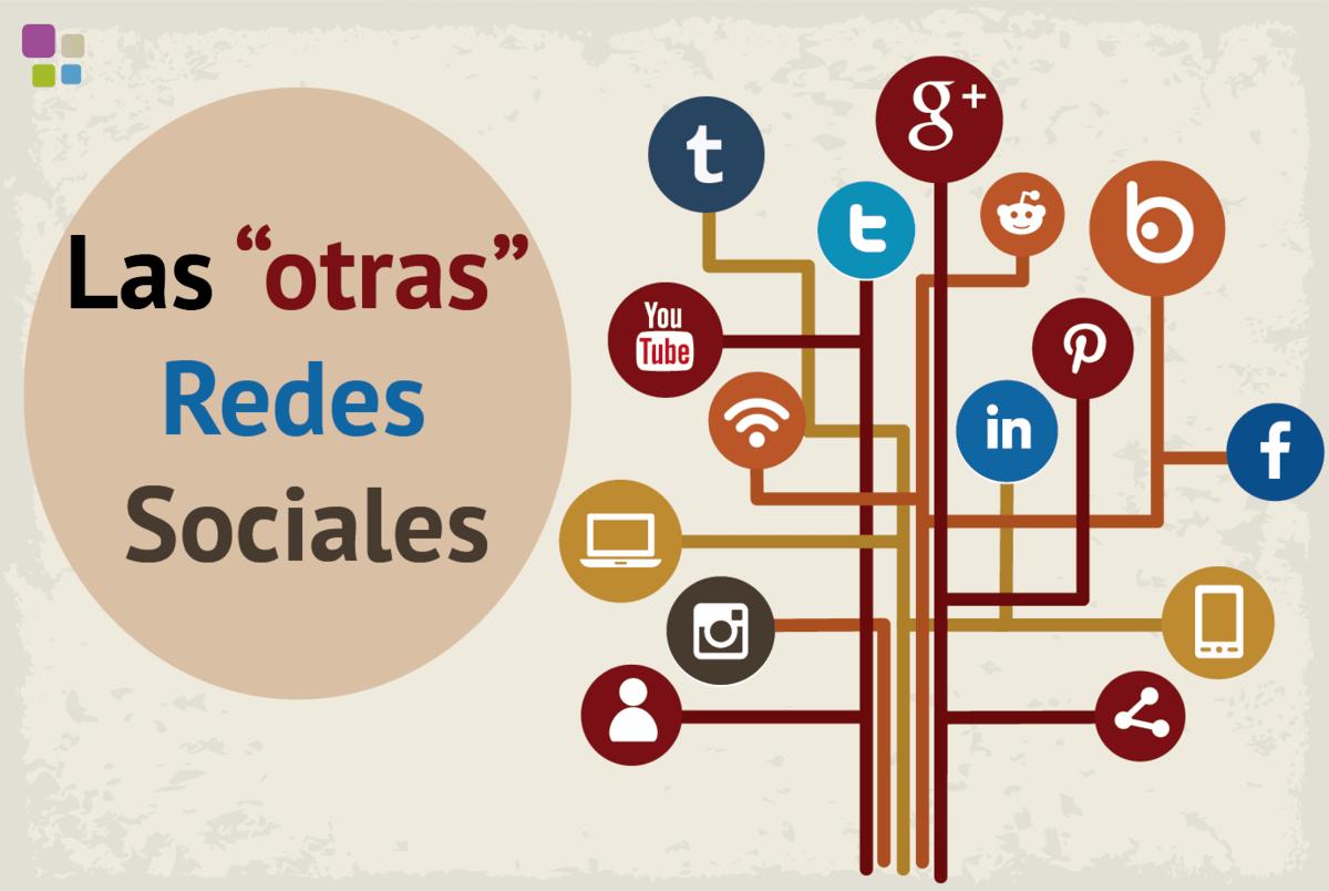 """Las """"otras"""" Redes Sociales que deberías tener en cuenta"""
