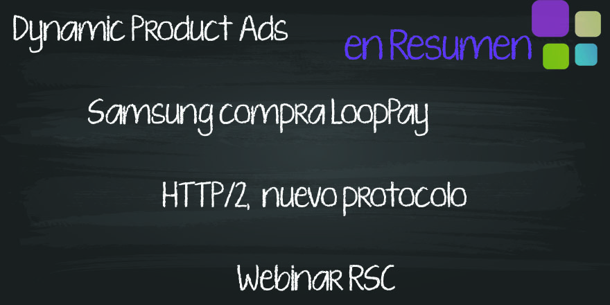 Products Ads de Facebook, HTTP/2 y RSC para emprendedores