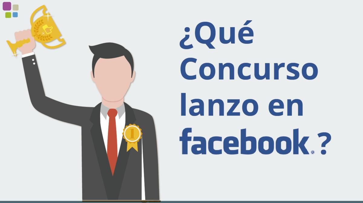 que concursos de facebook lanzo