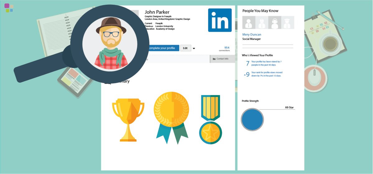 Las ventajas de crear un perfil de Linkedin para tus empleados
