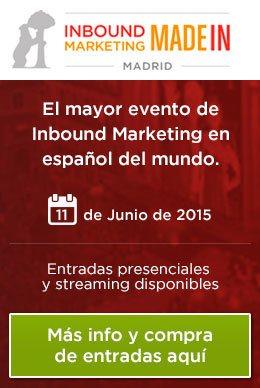 Llega la 3ª edición del Inbound Marketing made in Madrid