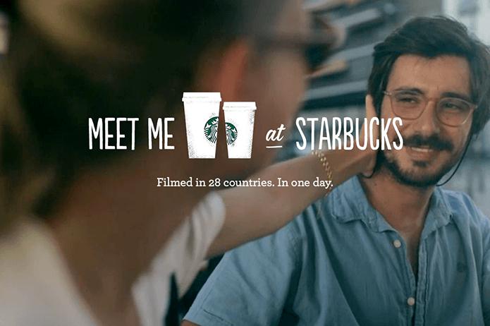starbucks visual storytelling