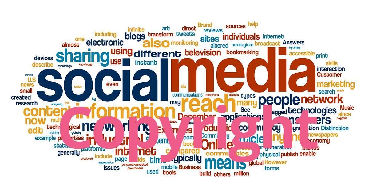 Los derechos de autor en las redes sociales
