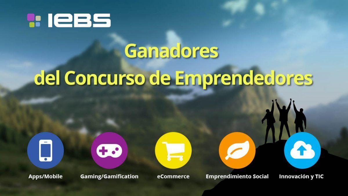 Anunciamos a los ganadores del Concurso de Emprendedores 2015