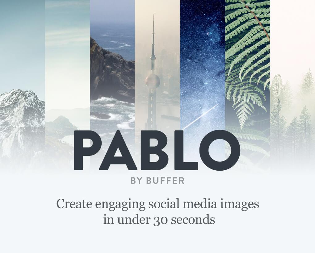 Crea la imagen perfecta para cada red social con Pablo 2.0