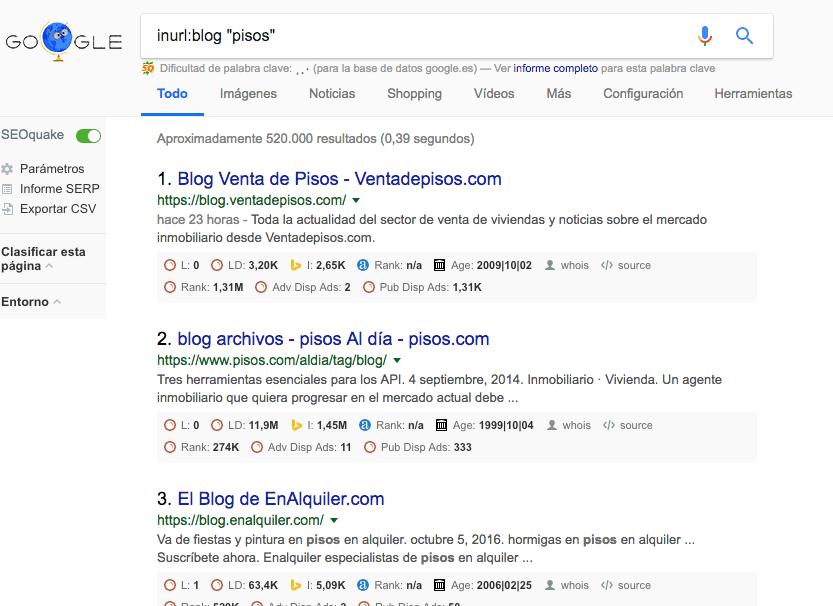 Comandos de búsqueda: los principales trucos para buscar en Google - Combinacion de footprints SEO min