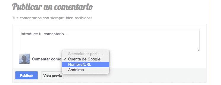 Dejar enlaces usando comandos de búsqueda