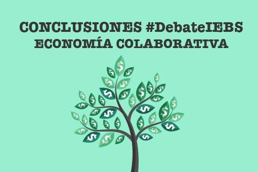 5 Lecciones aprendidas con el #debateIEBS sobre consumo y economía colaborativa
