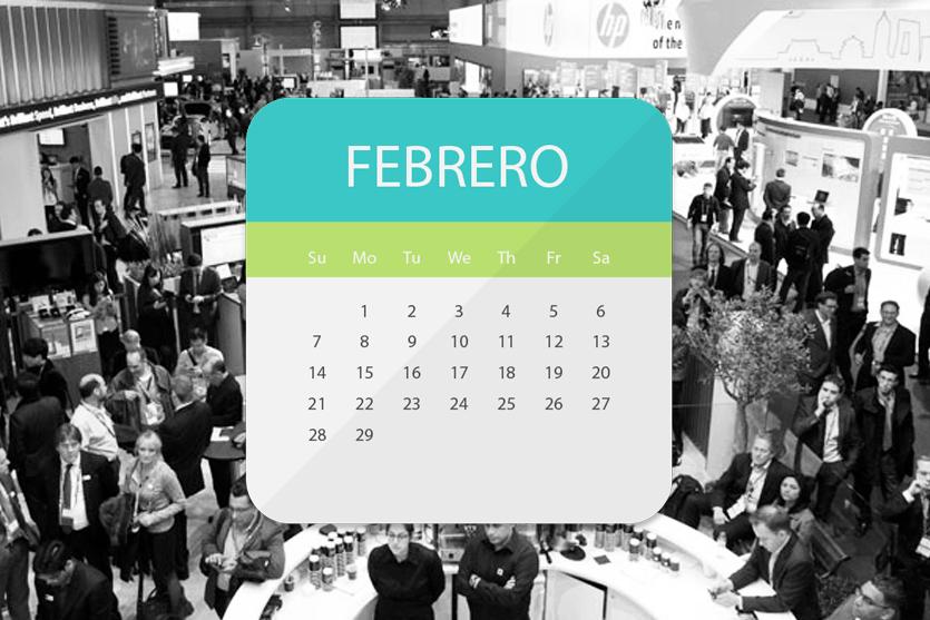 Agenda de eventos para febrero de 2016: lo mejor en el sector empresarial y de la comunicación
