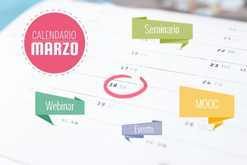 Calendario de eventos y cursos IEBS para Marzo