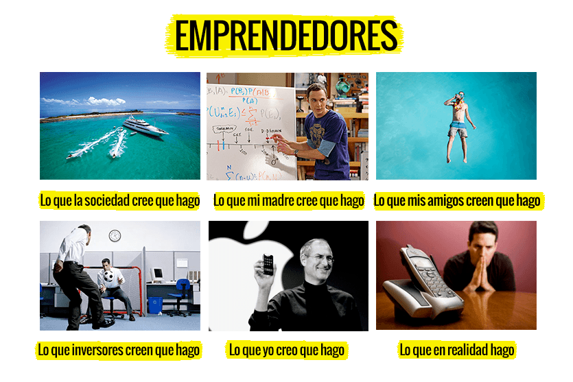 Situaciones en la vida de un emprendedor (humor)
