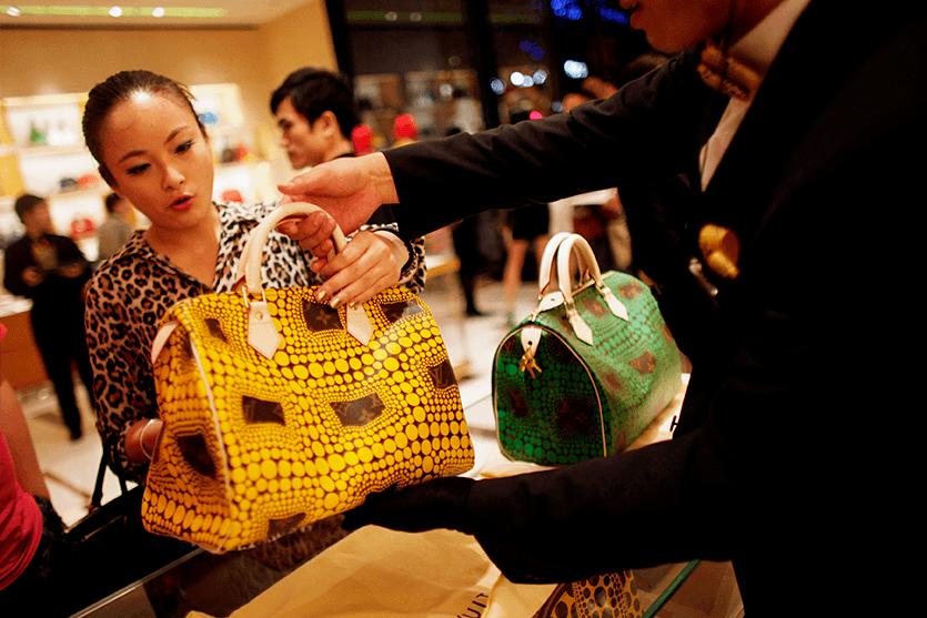 sector de productos de lujo