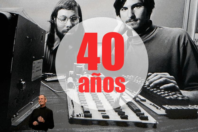 Lecciones de la historia de Apple: 40 años de éxito