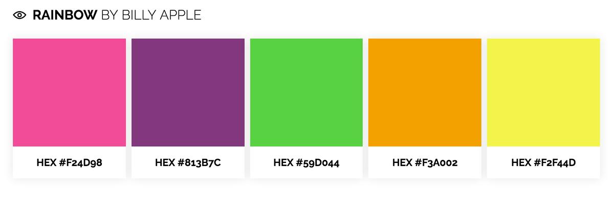 Diseño UX para móviles Jugando con los colores