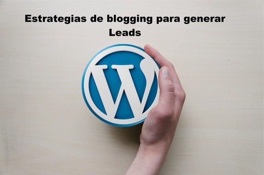 estrategia de blogging para generar leads