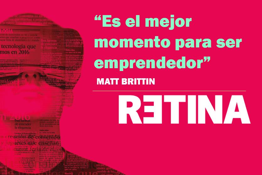 Es el mejor momento para ser emprendedor, Matt Brittin motiva las iniciativas emprendedoras