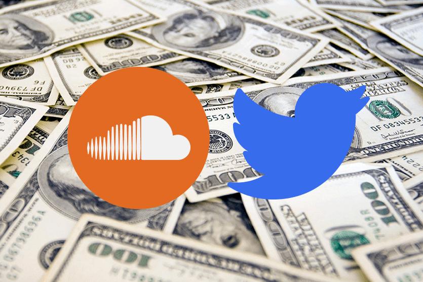 Twitter no se rinde y adquiere parte de Soundcloud por 70 millones de dólares