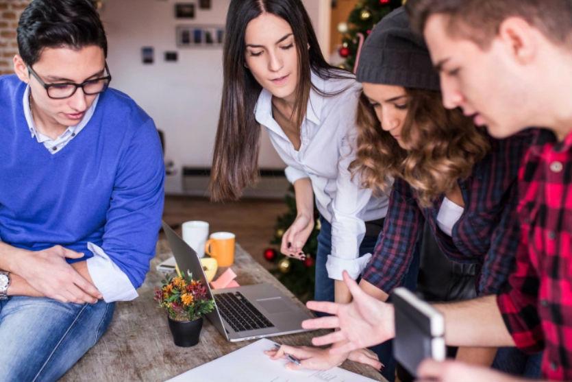 oficina perfecta para millennials