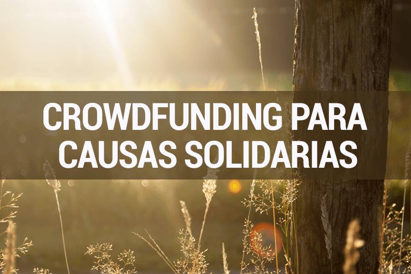 Crowdfunding para causas solidarias