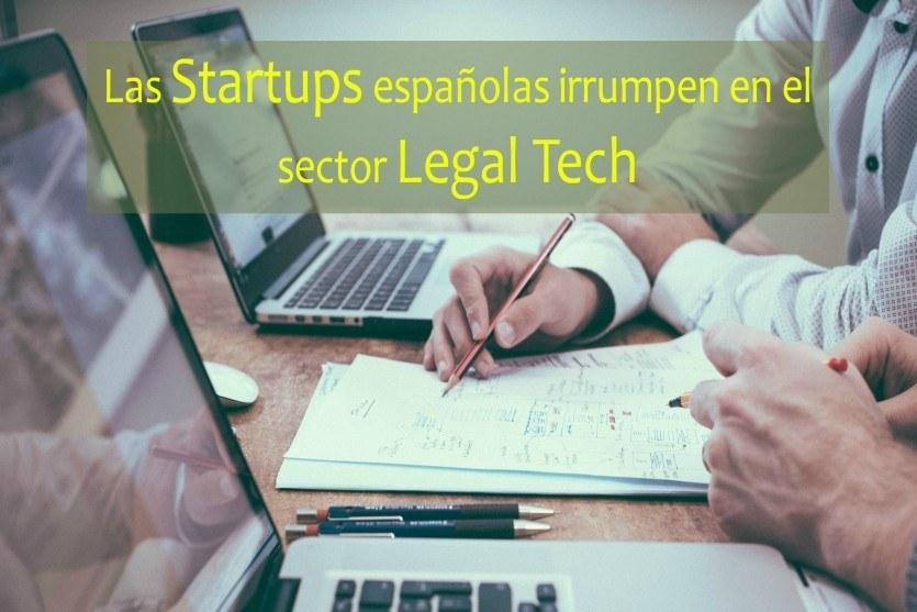 Las startups españolas irrumpen en el sector Legal Tech