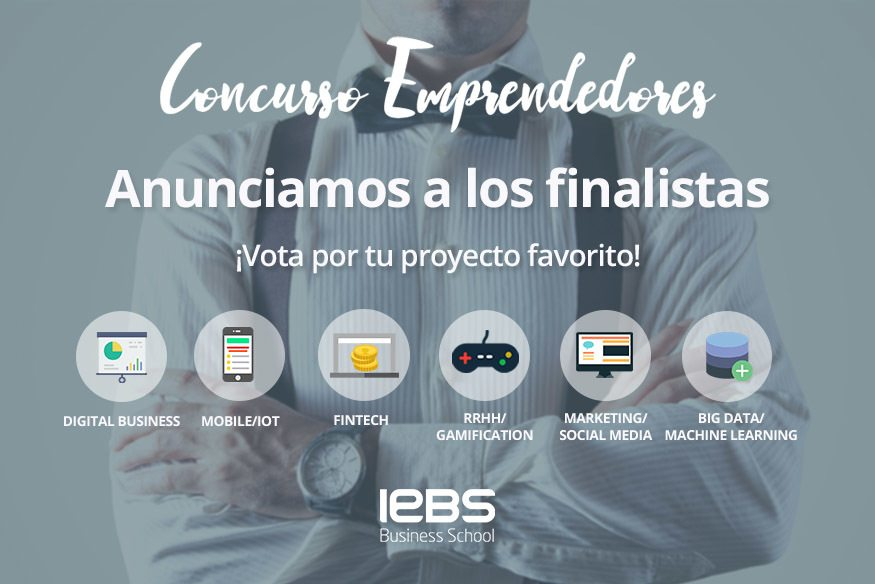 El Concurso de Emprendedores 2017 anuncia a sus finalistas. ¡Vota por tu proyecto favorito!