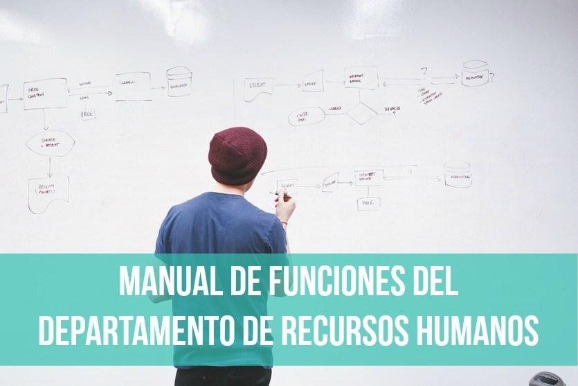 Manual de funciones del Departamento de Recursos Humanos