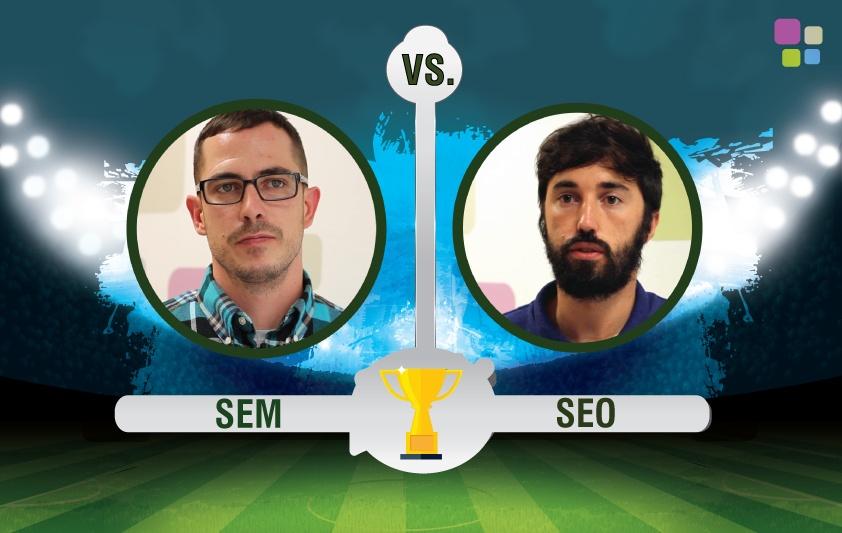 La Batalla del Search: SEO vs. SEM ¡El combate más esperado en IEBS!