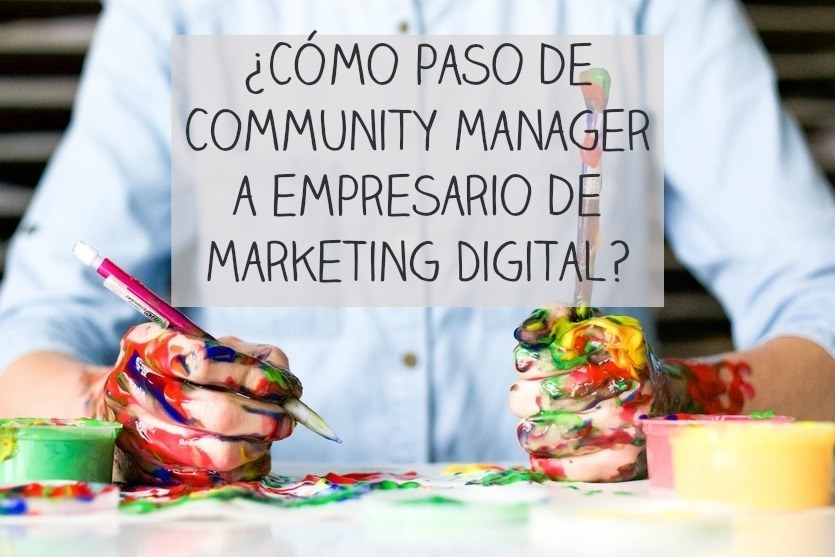 empresario de marketing digital