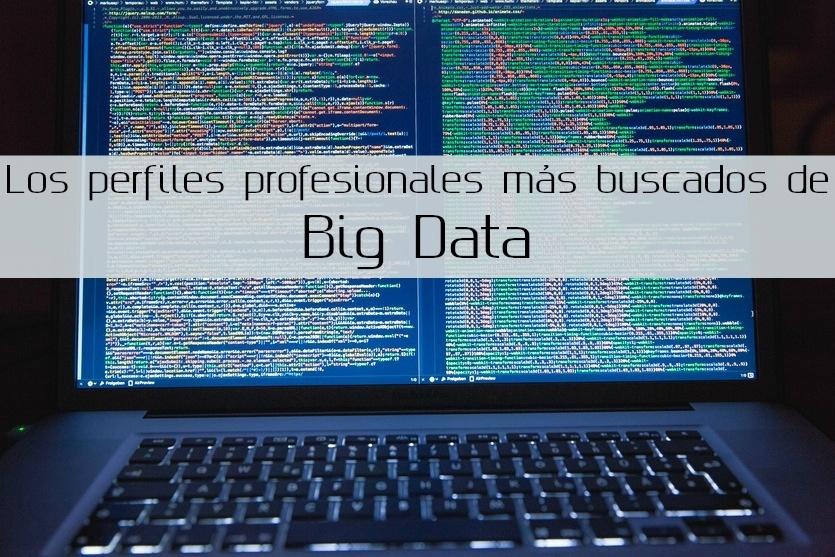 Los perfiles profesionales más buscados de Big Data