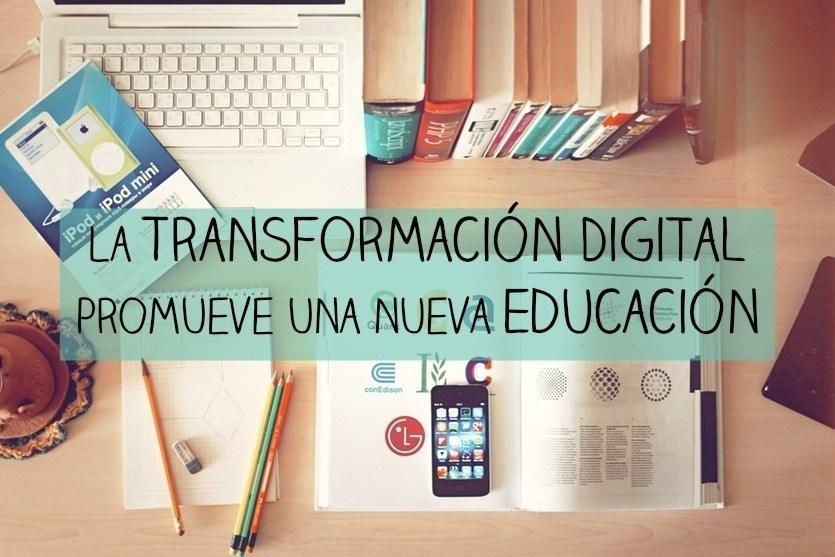 La transformación digital promueve una nueva educación