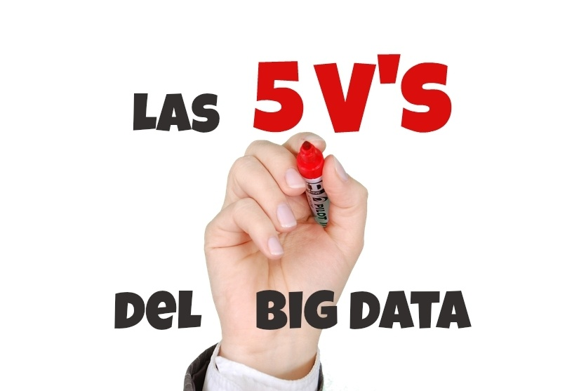¿Cuáles son las 5 V's del Big Data?