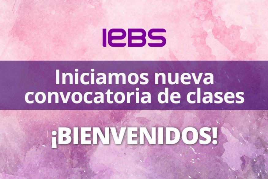 Inicio de la nueva convocatoria de clases de IEBS