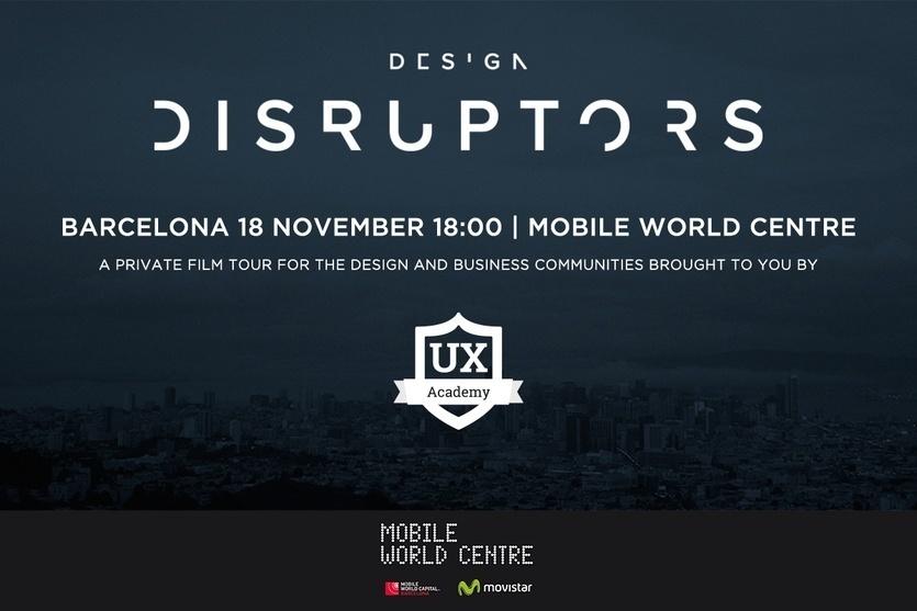 Ven a la premiere de Design Disruptors. El futuro está diseñado