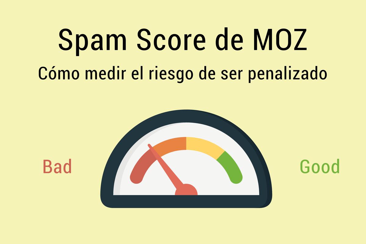 Spam Score de MOZ