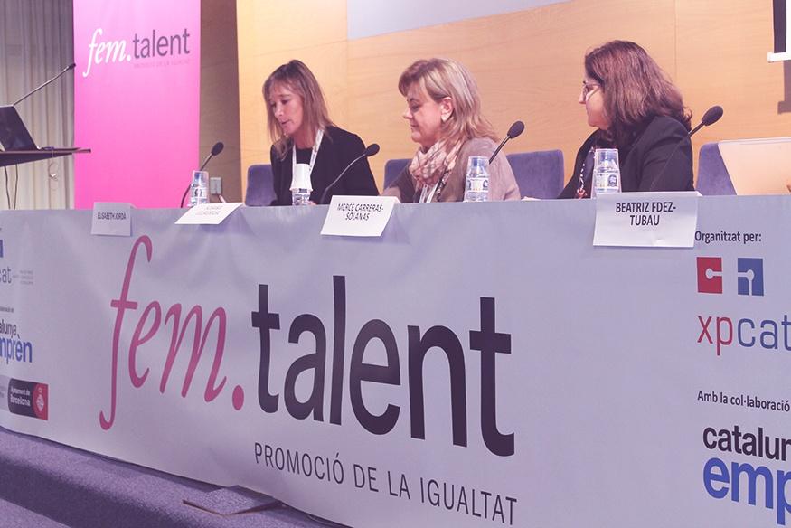 Soy madre de tres hijos y emprendedora, historias del Fem Talent 2017