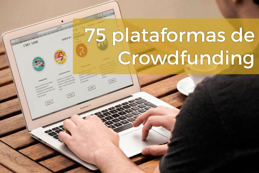 Las 75 mejores webs de Crowdfunding en España
