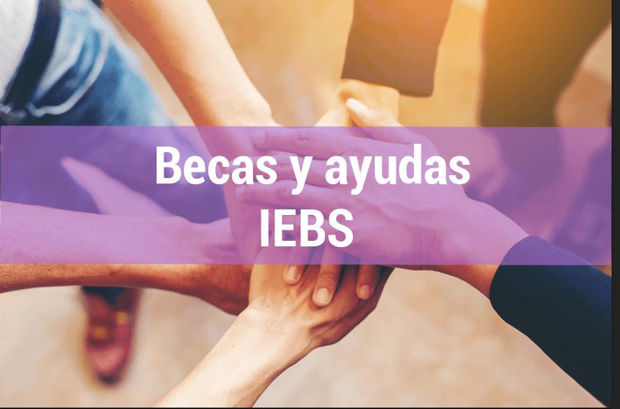 ¿Quieres estudiar en nuestra escuela de negocios? Todas las Becas y Ayudas de IEBS