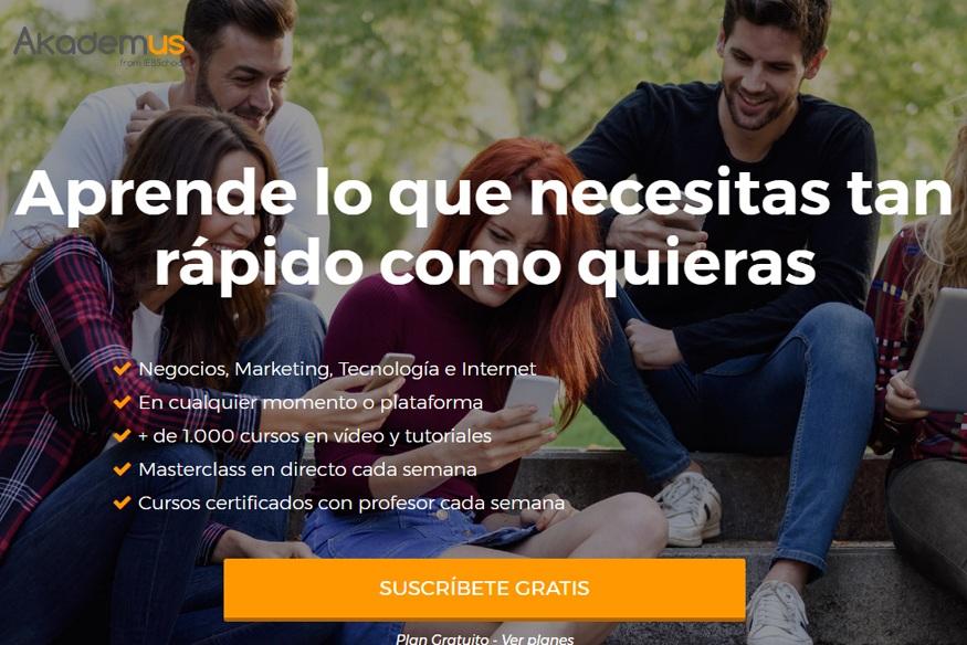 IEBS lanza Akademus, la 1ª academia digital con más de 1.500 cursos online gratuitos