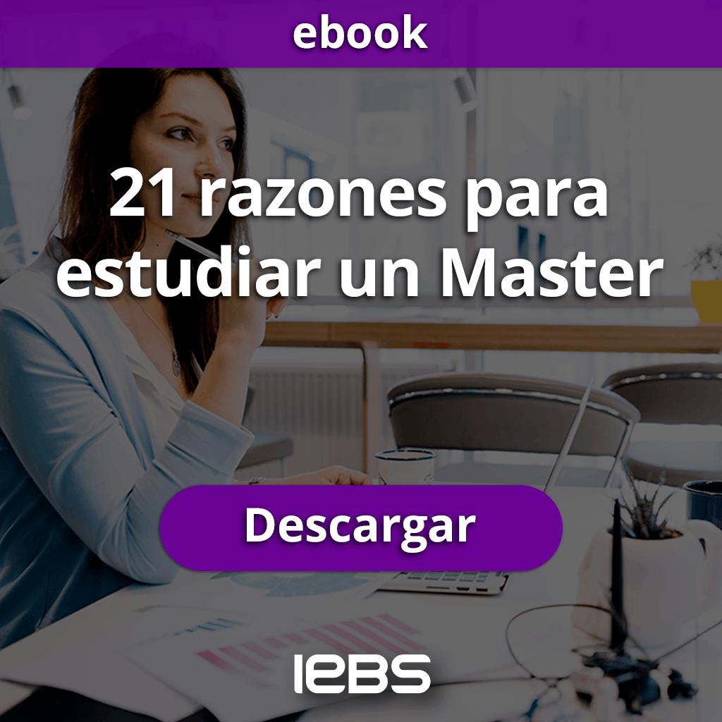 21 Razones para estudiar un Master (CTA)