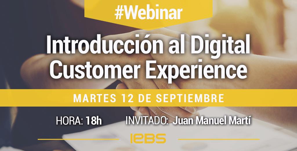 webinar introducción al digital customer experience
